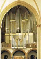 Dei große Orgel - nahezu die gesamte Literatur ist spielbar