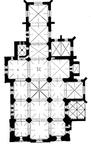 Grundriss der Münsterkirche