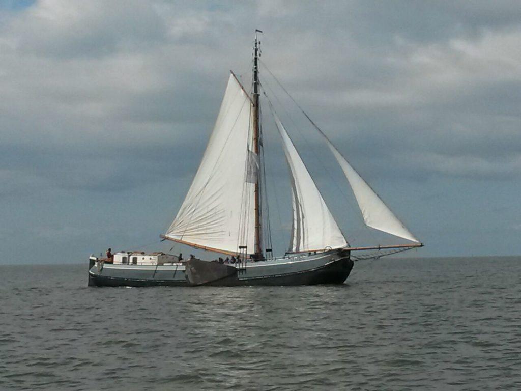 """Die """"Wending"""" - das Schiff der Gruppe von Pfarrer Johannes Beer"""