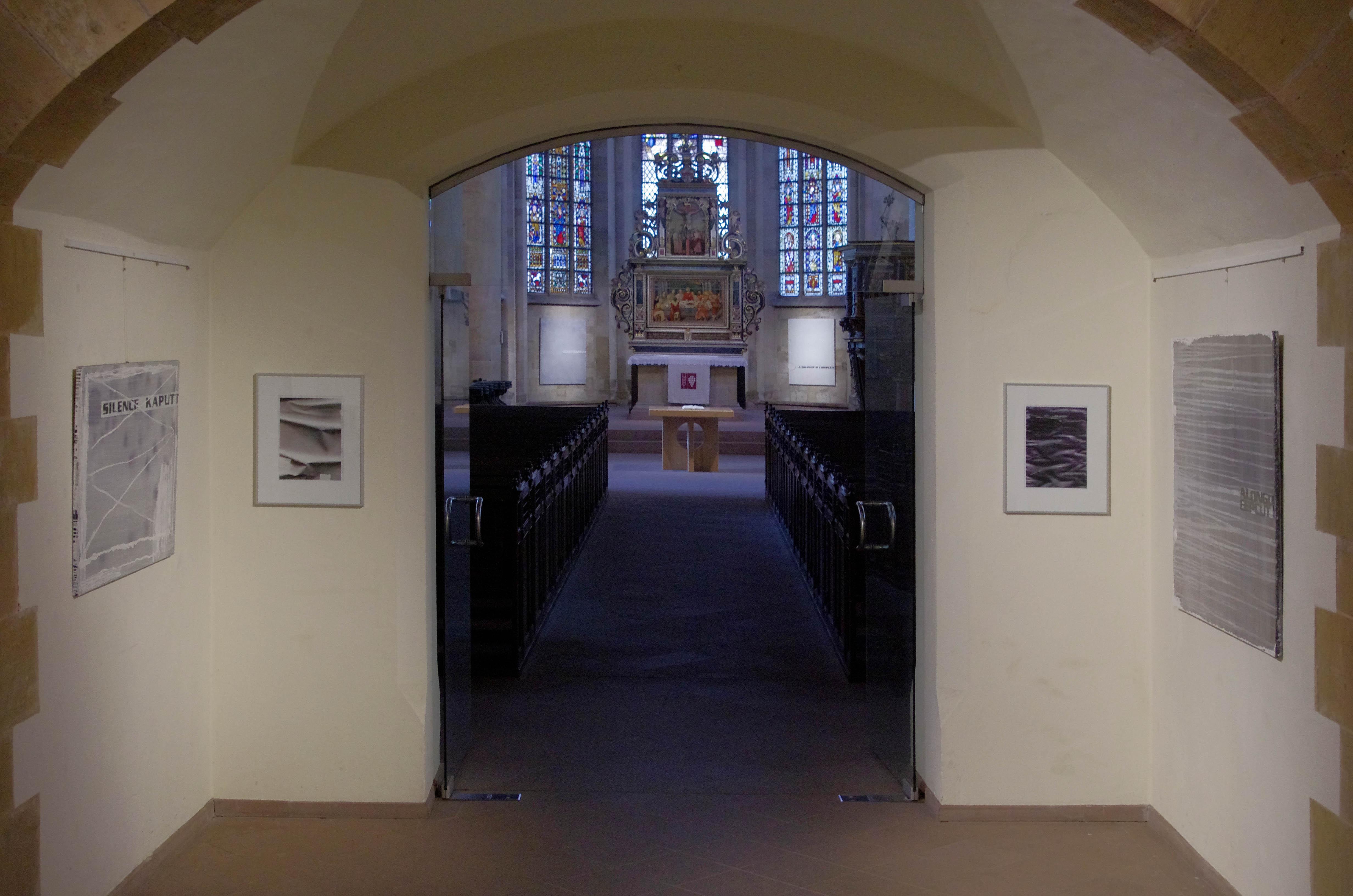 Die Ausstellung In Der St. Johanniskirche Zeigte Malerei Auf Leinwand, Holz  Und Papier Von Rainer Hoffrage. Sie War Vom 20.5.2017 Bis Zum 9.7.2017.